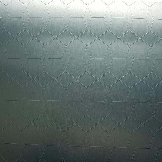 Alu Brushed Sapphire Oxygreen