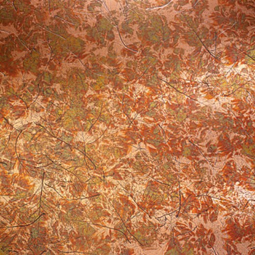 Copper Autumn Leaves